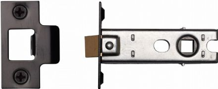 M Marcus York Security YKTL3-BLK Mortice Latch 76mm Black